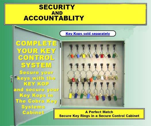 locked key boxes, key storage cabinets, prisons, jails, universities, colleges, hospitals, pharmacies